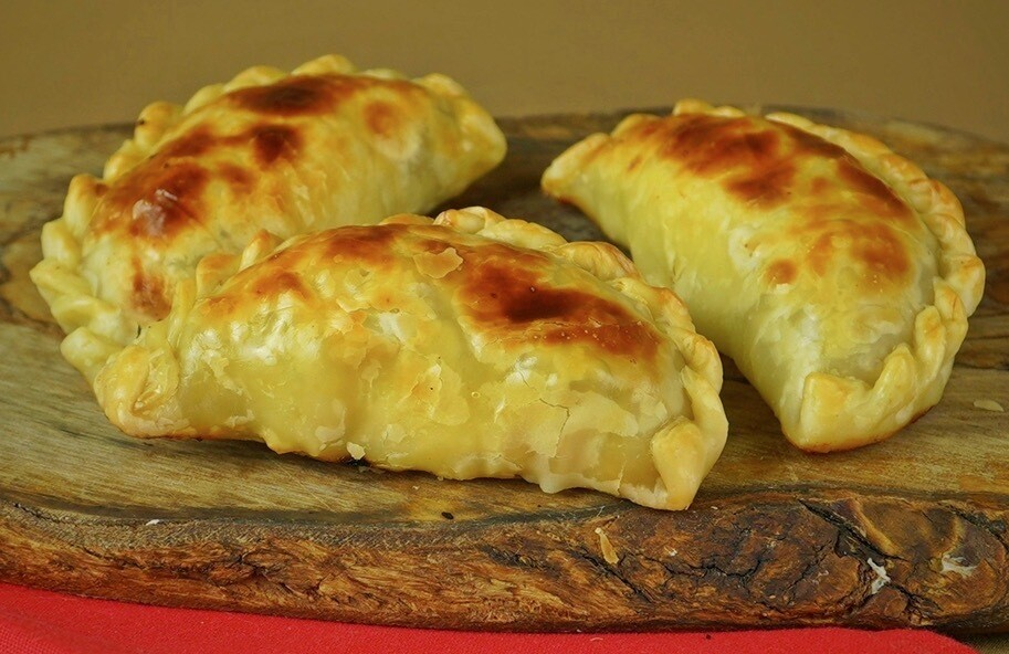 Caramelized Onion & Cheese Empanadas