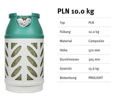 Kunststoffflaschen Prolight 10.0 Kg