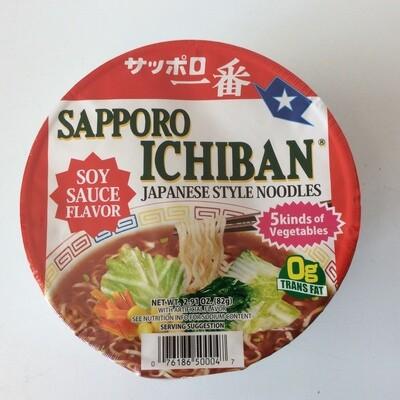 Sapporo Ichiban Cup Ramen Soy