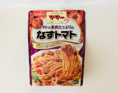 Nisshin Mamma Pasta Sauce Eggplant&Tomato