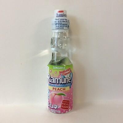 Sangaria Ramune Marble Soft Drink Peach