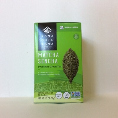 Yamamotoyama Matcha Sencha Tea Bags Matcha and Green Tea