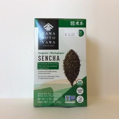 Yamamotoyama Organic Sencha Green Tea Bags