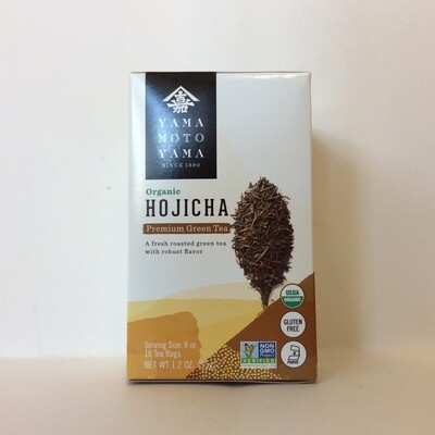 Yamamotoyama Organic Hojicha Roasted Green Tea Bags
