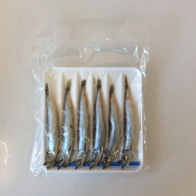 Shishamo Half Dried Capelin (Frozen)