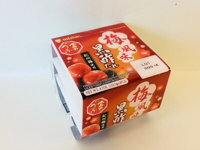 Mizkan Umefuumikurozutare Natto Fermented Soybeans with Plum Sauce