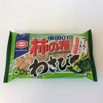 Kameda Kaki No Tane Peanut Mix Wasabi
