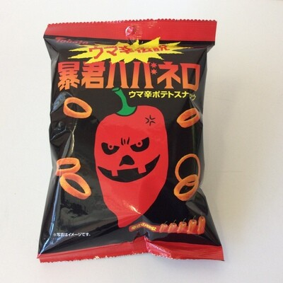 Tohato Super Spicy Potato Snack