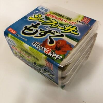 Kaneryo Mozuku Shikuwasa Seasoned Seaweed with Citrus