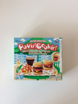 Kracie Tanoshii Hamburger Candy Kit