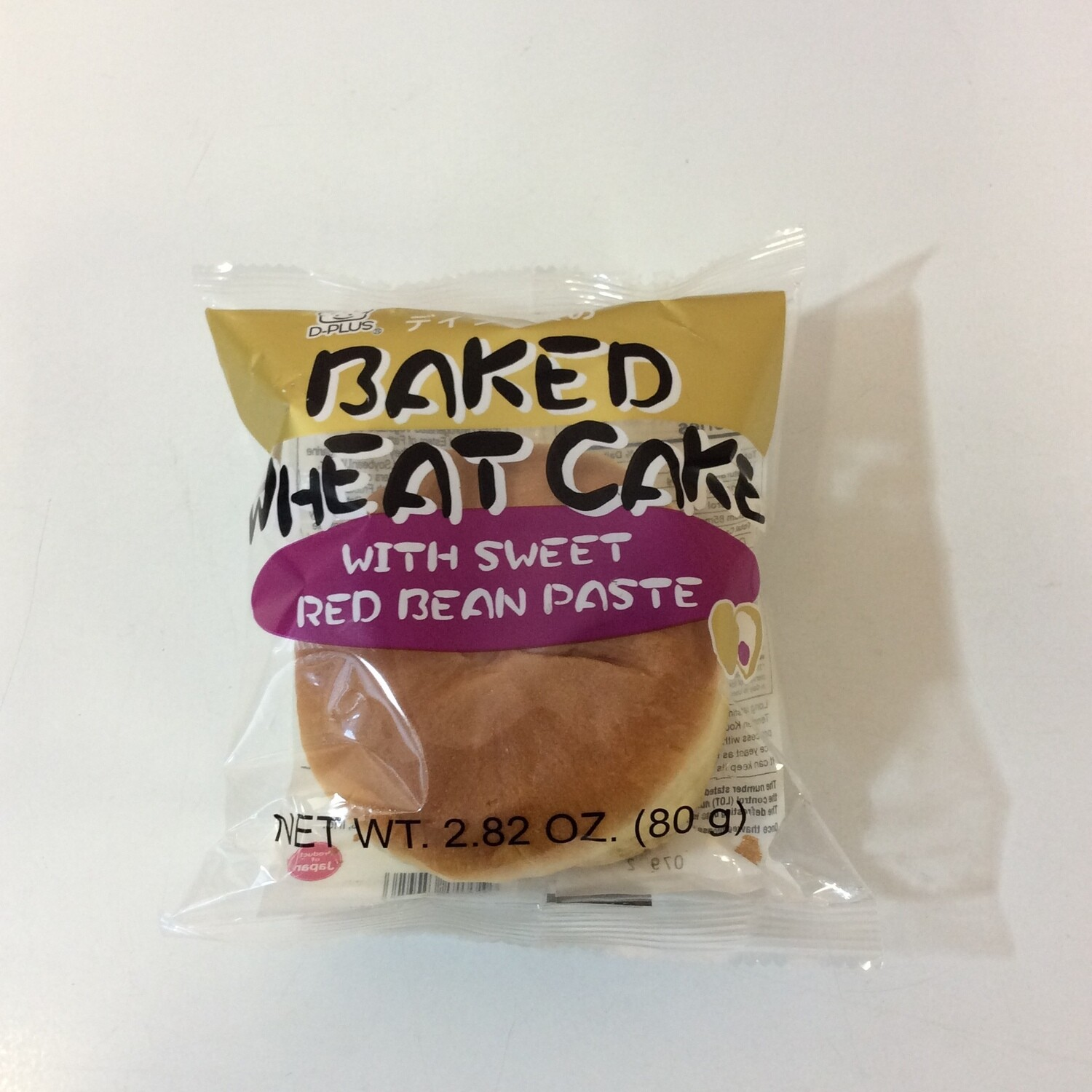 D-Plus Baked Wheat Cake Red Bean