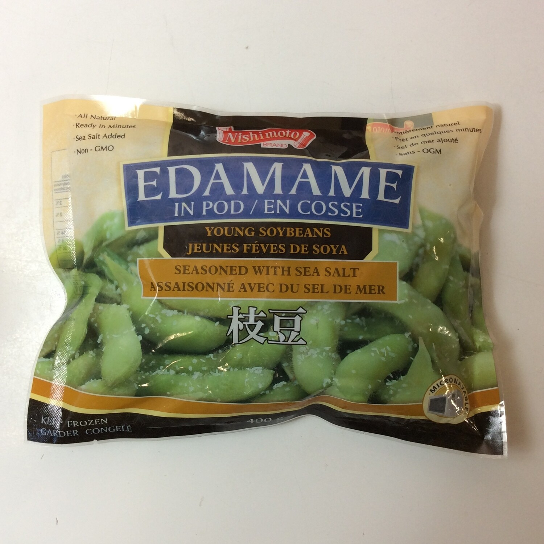 Nishimoto Edamame in Pod with Sea Salt