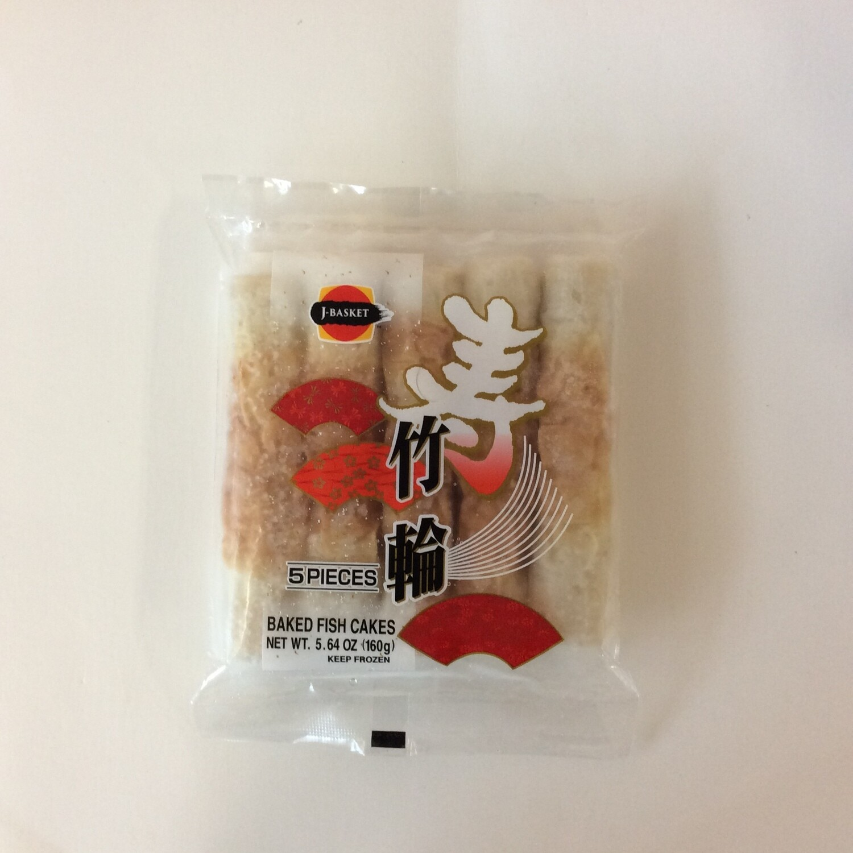 J-Basket Chikuwa Fish Cake (Frozen)