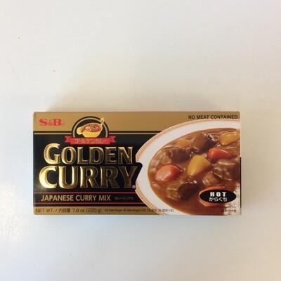 S&B Golden Curry Roux Hot