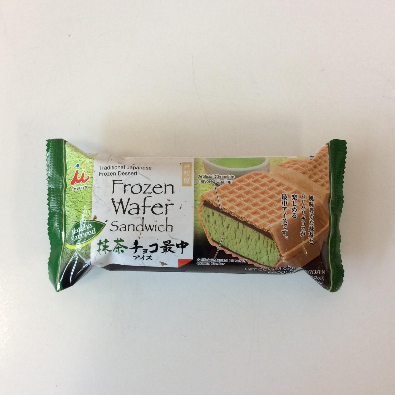 Imuraya Matcha Chocolate Monaka Ice Cream