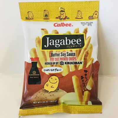 Calbee Jagabee Butter Soy Sauce Potato Chips
