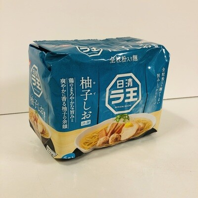 Nissin Rao Ramen Shio Instant Noodle Salt 5P