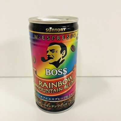Suntory Boss Rainbow Mountain Espresso Blend Coffee 185g