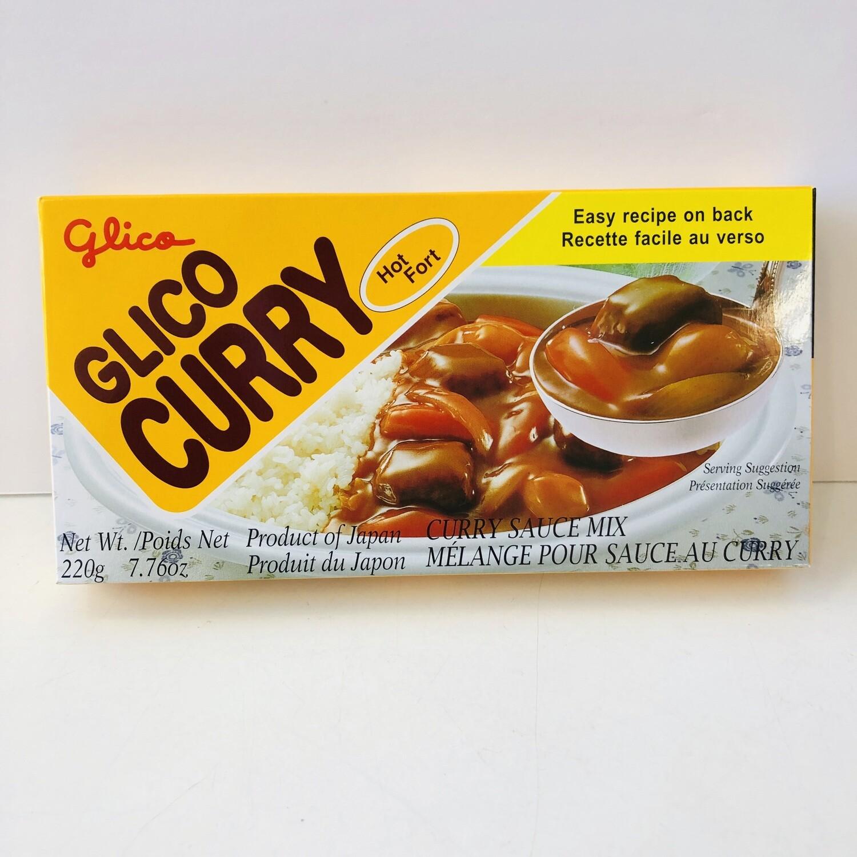 Glico Curry Hot