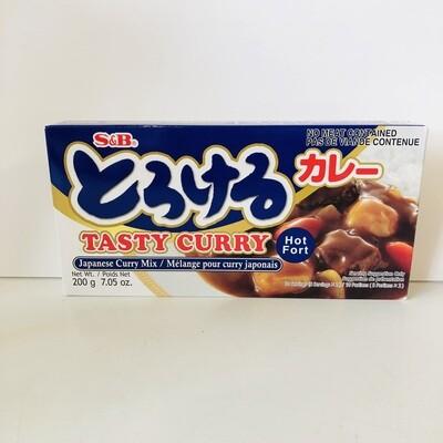 S&B Torokeru Curry Hot
