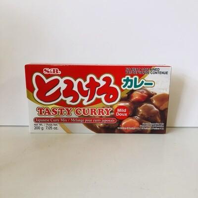 S&B Torokeru Curry Mild