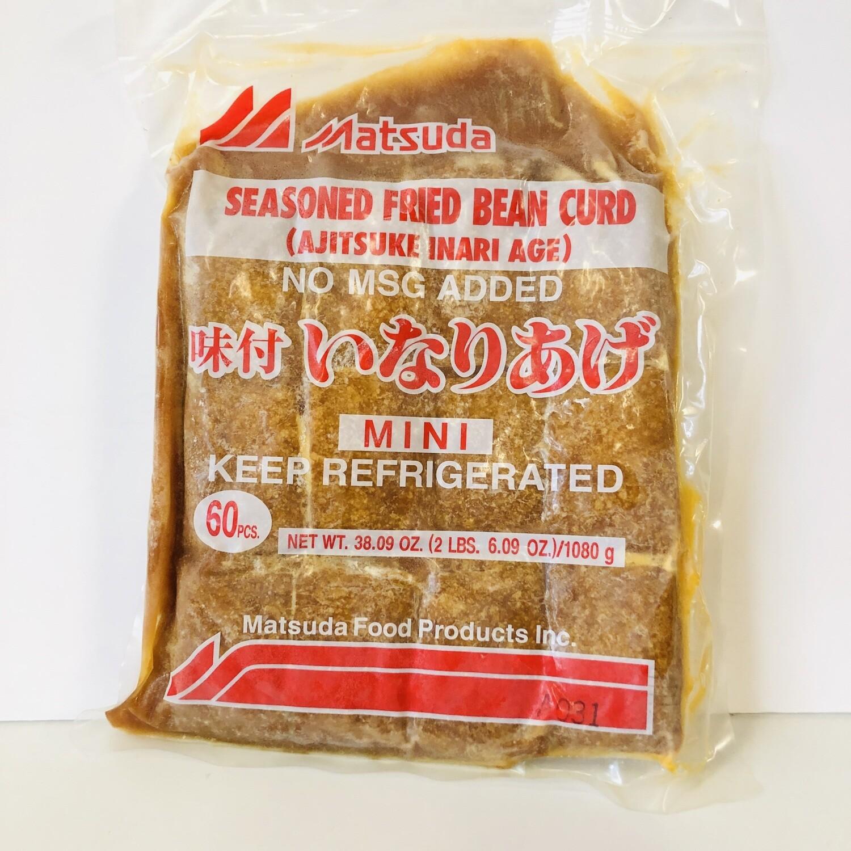 Matsuda Ajitsuke Inari Seasoned Fried Bean Curd 60pcs