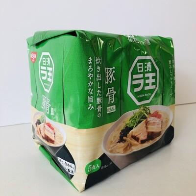 Nissin Rao Ramen Tonkotsu Instant Noodle BBQ Pork 5P