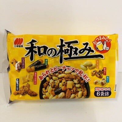 Sanko Premium Assorted Rice Crackers & Peanuts