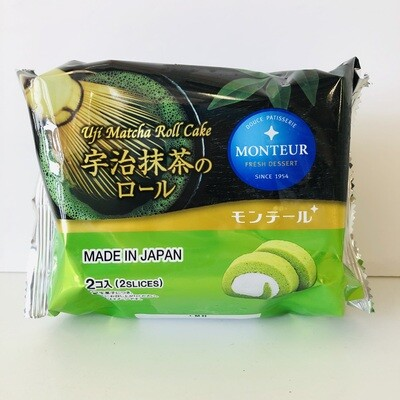 Monteur Uji Matcha Roll Cake  2pc