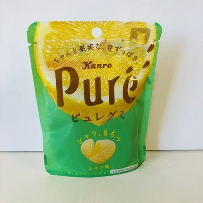Kanro  Puré Lemon Gummy