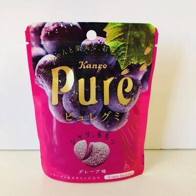 Kanro Puré Grape Gummy