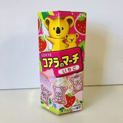 Lotte Koala no March Strawberry Biscuit (Made in Japan)