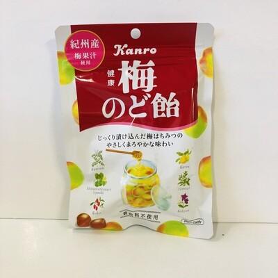 Kanro Ume Plum & Mint Candy 90g