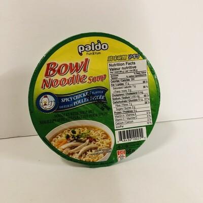 Paldo Spicy Chicken Noodle Korean Cup