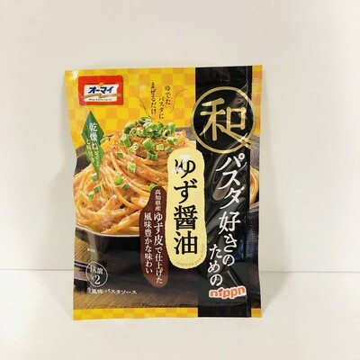 Nippn Oh-my Yuzu Shoyu Citrus Soy Sauce Pasta Sauce