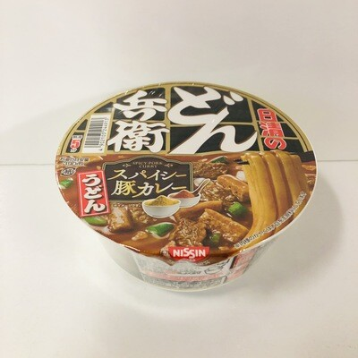 Nissin Donbei Curry Udon Instant Bowl Noodle