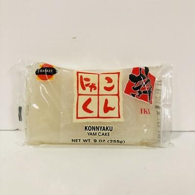 JFC Iki Konnyaku White Yam Cake 255g