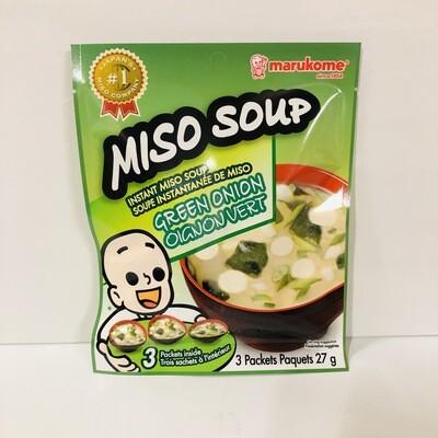 Marukome Instant Miso Soup Green Onion