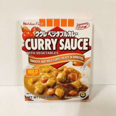 House Instant Curry Sauce with Vegetables Mild