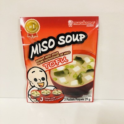 Marukome Instant Miso Soup Tofu