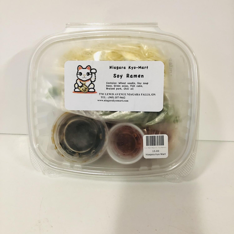 Kyo-Mart Meal Kit -Soy Ramen-