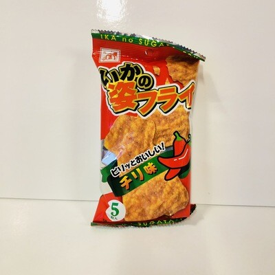 Ika no Sugata-Fry Cuttlefish Chips Chili