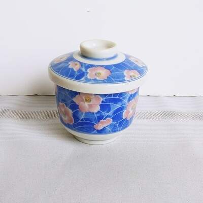 Tea Cup with Lid -Flower-