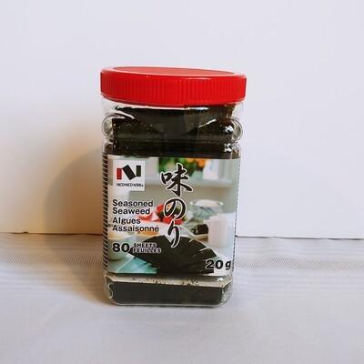 Nico Nico Ajinori Seasoned Seaweed 20g