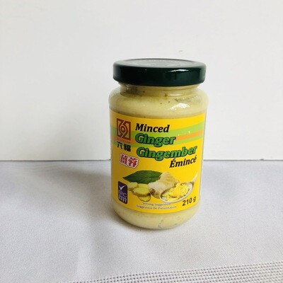 Six Fortune Minced Ginger 210g