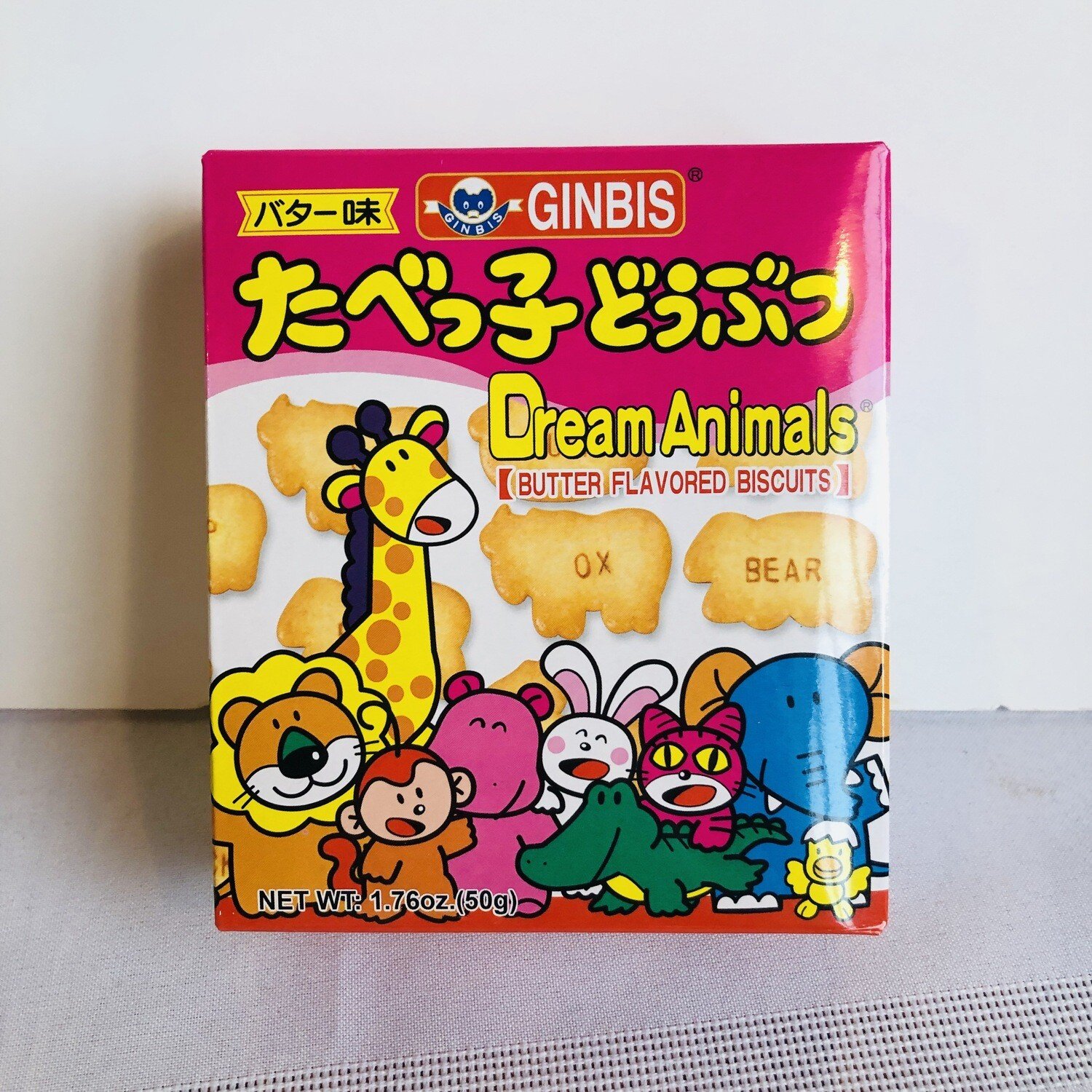 Ginbis Animal Biscuit Butter
