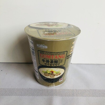 Paldo Gomtang Beef & Vegetable Cup Noodle