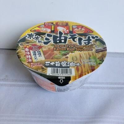 Hikari Menraku Ramen Abura Soba Rich Soy (No Soup)