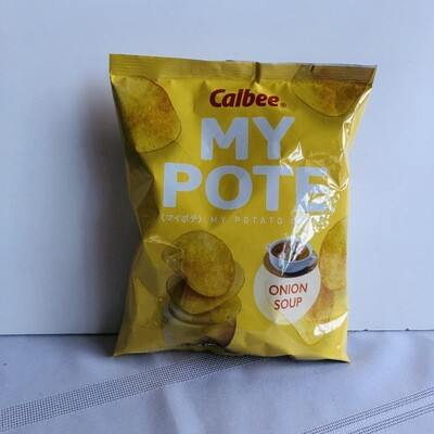 Calbee My Pote Potato Chips Onion Soup