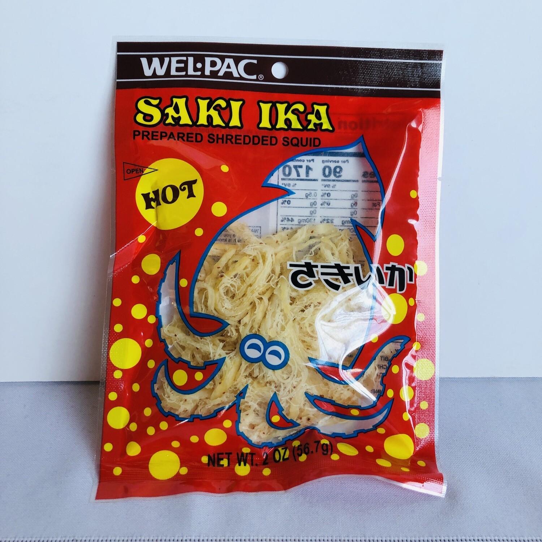 Welpac Saki Ika Shredded Squid Hot